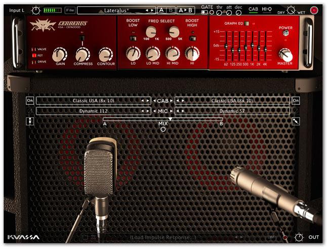 Kuassa Cerberus Bass Amp Simulator