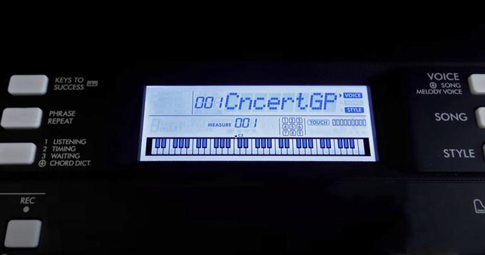 Yamaha PSR-E373 PSR-EW310 Concert Grand Piano
