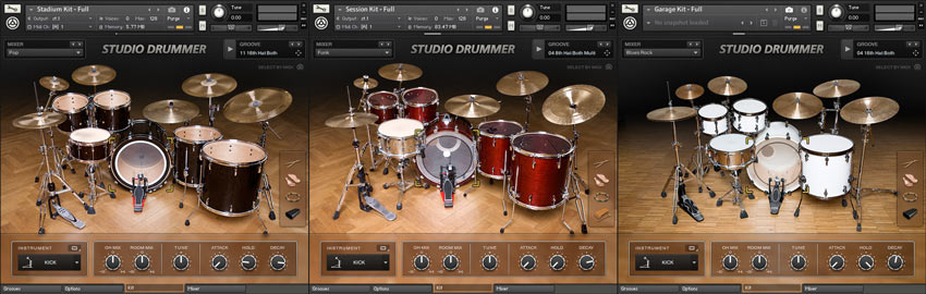 Native Instruments Studio Drummer Drums